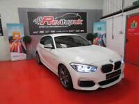2017/67 BMW M140i 3 DOOR - 340BHP - 6 SPEED - RED LEATHER - ONLY 3K MILES