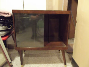 Antique Record Stand