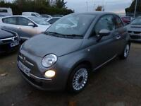 FIAT 500 1.2 LOUNGE, AIR CONDITIONING, GLASS PANORAMIC ROOF, 35,000 MILES ONLY