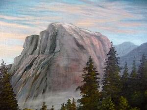 "Yosemite Monolith, Sentinel Rock by Jo Milledge ""Morning Mist"" Stratford Kitchener Area image 3"