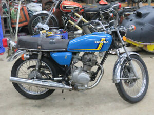 1977 Honda CB 125 Supersport