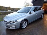 Volvo V60 2.0TD ( 181bhp ) ( s/s ) Geartronic 2014.5MY SE Lux Nav