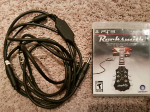 Rocksmith cable and game