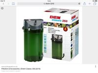 Eheim 350 external canister filter