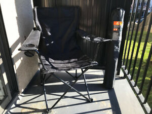 Black Camping Chairs (2)