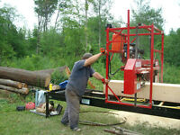 Lumber milling available