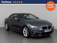 2015 BMW 4 SERIES 420d M Sport 2dr Auto Convertible