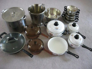 lots of kitchen items on sale