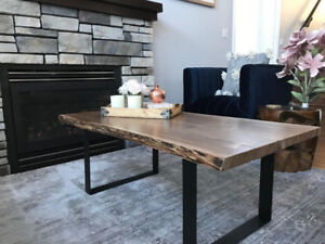 Live edge coffee table – brand new