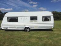 (61) TABBERT VIVALDI, 2010 YR, SINGLE AXLE, 5 BERTH, FIXED BED, TOURING CARAVAN