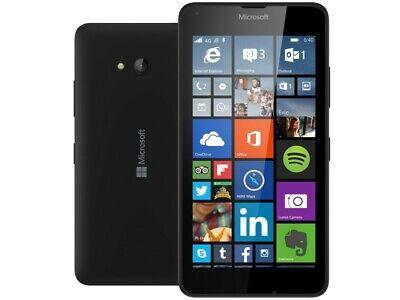 Nokia Microsoft Lumia 640 LTE 4G Smartphone - Unlocked - Black - Grade A