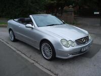 MERCEDES-BENZ CLK240 2.6 AUTO AVANTGARDE STUNNING BEXAMPLE READY TO DRIVE AWAY