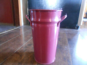 Brand New!  Burgundy wine ice bucket