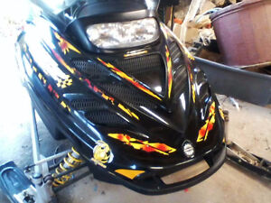 2001 MXZ 800 Rave Ski Doo Very Good Condition, (sell or trade)