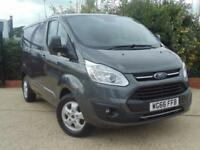 2016 Ford Transit Custom 290 L1 H1 Limited, 130 PS Euro 6 Engine 4 door Panel...
