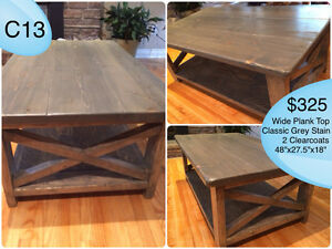 CUSTOM BUILT COFFEE TABLES, YOUR CHOICE OF STAIN Kingston Kingston Area image 4