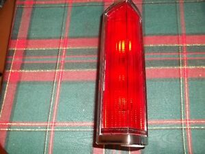 tail light lincoln town car 1980