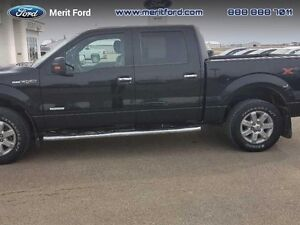 2014 Ford F-150 S/CREW XLT 4X4   - one owner - local - sk tax pa