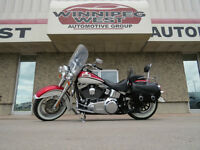 2008 HARLEY-DAVIDSON SOFTAIL DELUXE LIMITED EDITION, LIKE NEW !!