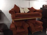 Fabric 3 11 sofa set