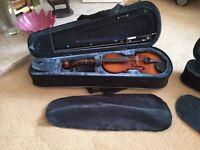 Two Primavera Prima 200 Violin Outfit 1/8 Size