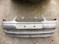 corsa b sport front bumper with badgless grill