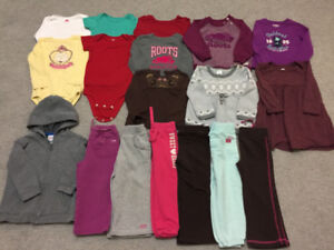 fall-winter clothes sizes 18-24m, 2T in excellent condition. $20