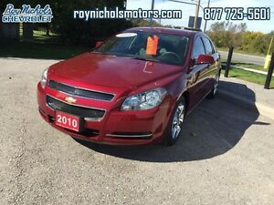 2010 Chevrolet Malibu LT  - Certified - $106.12 B/W  - Low Milea