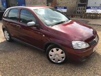 2003 '53' Vauxhall Corsa 1.4 AUTO. Petrol. Automatic. 5 Door. Bargain. Px Swap