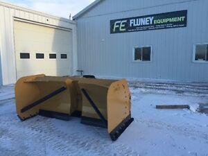 FLUNEY HEAVY DUTY SNOW PUSHERS,SNOW BLADES & SNOW BUCKETS