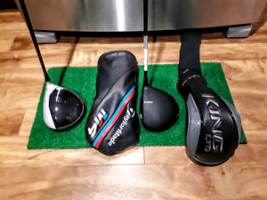 Left Handed Taylormade M4 10.5 and Cobra F7+ Stiff Flex Drivers
