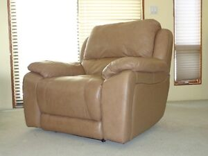Bonded Leather Recliner  Price reduced