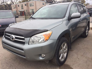 2008 TOYOTA RAV4 AWD LIMITED!! LEATHER!! VERY LOW KM!!SAFETIED!!
