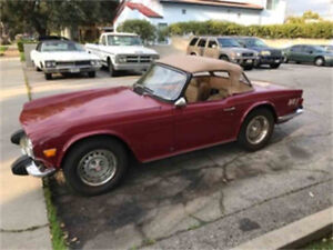 Wanted Triumph TR-6 Project