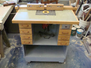Router Cabinet  & Router