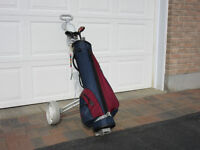 Mens right handed (10) golf clubs