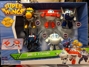 """Super Wings 5"""" transforming toys (NEW)"""