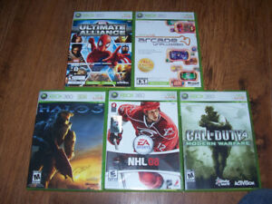 XBOX 360 Games For Sale  All 5 for $20