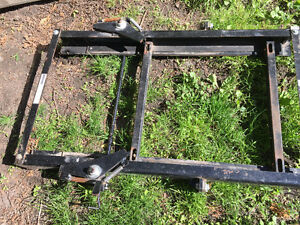 Slider frame for 5th wheel hitch