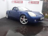 2003 03 TOYOTA MR2 1.8 VVT-i ROADSTER AND HARDTOP,SAME OWNER SINCE 2009.FULL SH
