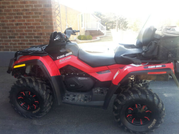 Used 2012 Can-Am Outlander MAX XT 800 R 2 places