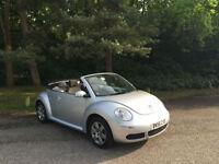 2006/56 Volkswagen Beetle 1.6 Luna 2 Door Convertible Silver