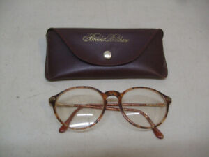 """A PAIR OF  """"BROOKS BROTHERS""""  EYEGLASSES AND CASE"""