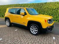Jeep Renegade 1.4 Multiair Longitude Manual Yellow 2017 66 reg