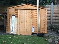 STILL AVAILABLE! Brand new bike shed