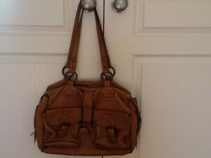 Beautiful Roots Leather Work Bag