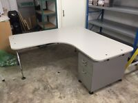 Heavy duty office desks suitable for warehouse & large home office