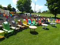 Recycled Plastic Muskoka Chairs Largest Selection From $199-$299