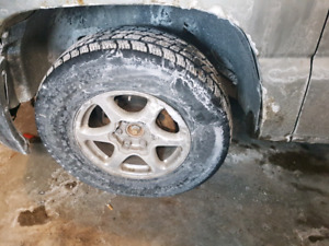 Gmc Chevy 6 bolt 17 inch rims and tires