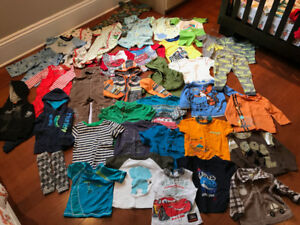 Baby boy clothes 18-24 months old